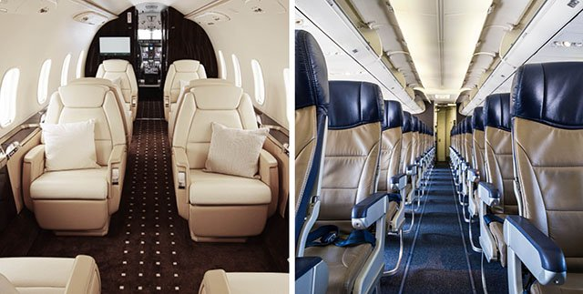 Private Aircraft Charter Vs. Commercial Flying